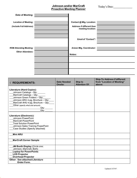 conference planning template 4 meeting planner template teknoswitch