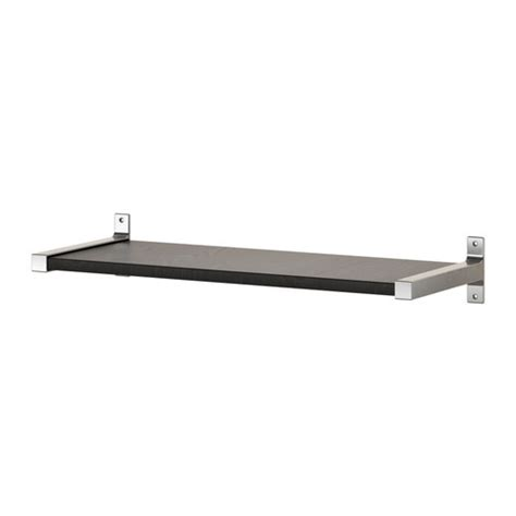 Ekby Shelf Brackets by Ekby J 196 Rpen Ekby Bj 196 Rnum Wall Shelf Black Brown