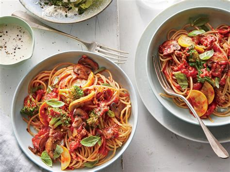 Light Green Veggie Pasta For Dinner by Sunday Strategist A Week Of Healthy Dinners April 10 14