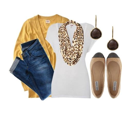 Leopard Yellow Mustard mustard meow 2 white tees leopards and mustard