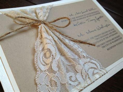 lace wedding invitations rustic lace wedding invitations so ipunya