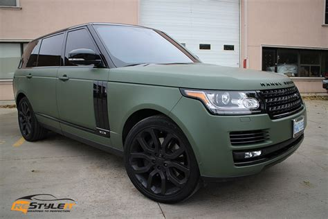 army green range rover matte military green range rover full size vehicle