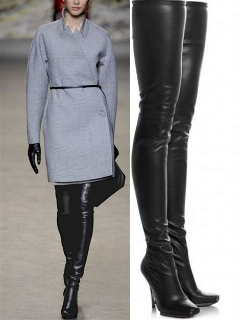 jeffrey cbell thigh high boots a pair of fashion lace up thigh high boots is necessary