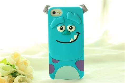 Softcase Softshell Casing 3d Sulley Monsters Inc Samsung J1 Ace 3d inc sulley silicone soft back cover for iphone