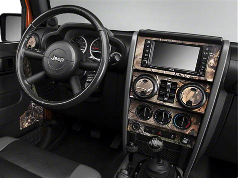 automobile air conditioning service 2008 jeep wrangler interior lighting jeep wrangler real tree camo dash kit w interior door camo 07 10 jeep wrangler jk 4 door