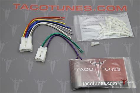 fj cruiser tacoma stereo harness install aftermarket stereo