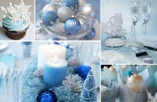 blue and silver wedding 10 stylish winter wedding centerpiece ideas creme de la