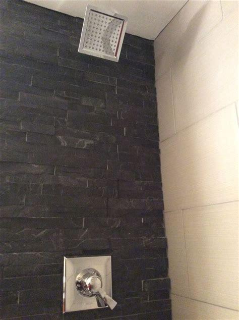 black white bathroom tile knowledgebase 7 best black stone shower w custom shower base images on