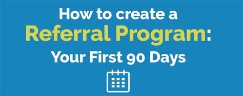 creating the impossible a 90 day program to get your dreams out of your and into the world books how to create a referral program your 90 days