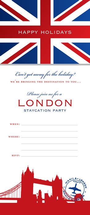 invitation design london host a london staycation party hostess with the mostess 174