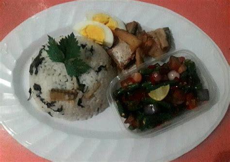 resep nasi bekepor sambal raja khas kalimantan timur oleh