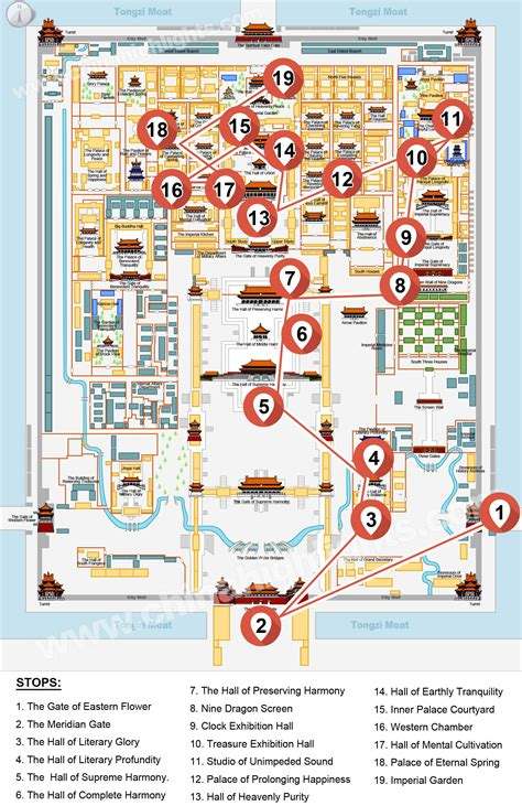 Floor Plan Guide by One Day In Depth Beijing Forbidden City Heritage Discovery