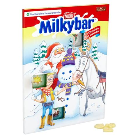 Chocolate Calendar Milkybar White Chocolate Advent Calendar Wise Choice