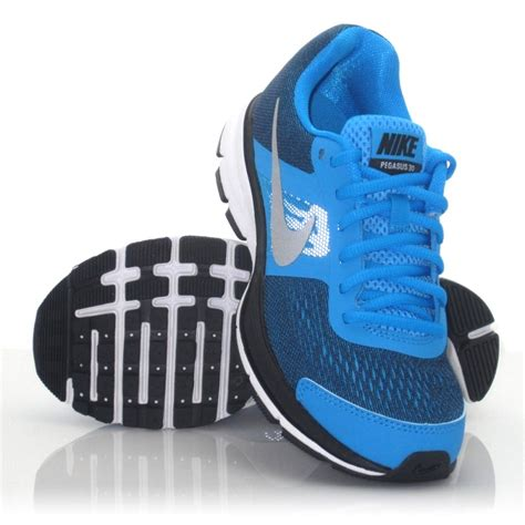 nike running shoes for kid nike air pegasus 30 running shoes blue white