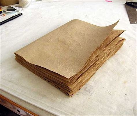 How To Make A Brown Paper Bag Book Cover - brown paper bags bags and nature on