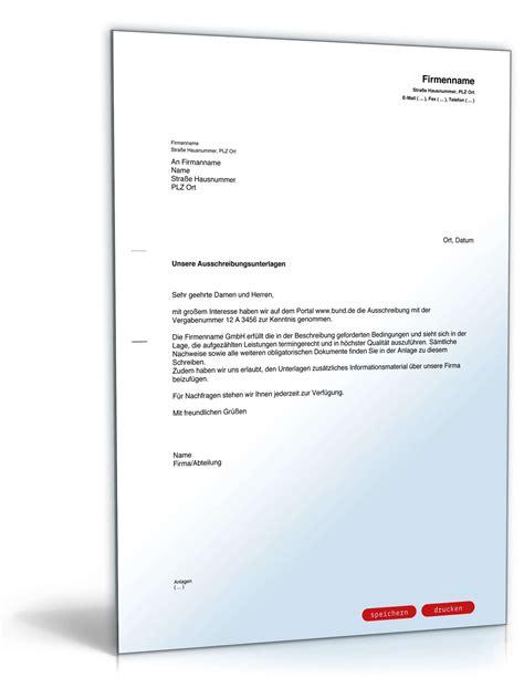 Rechnung Englisch Finanzamt begleitschreiben versand ausschreibungsunterlagen