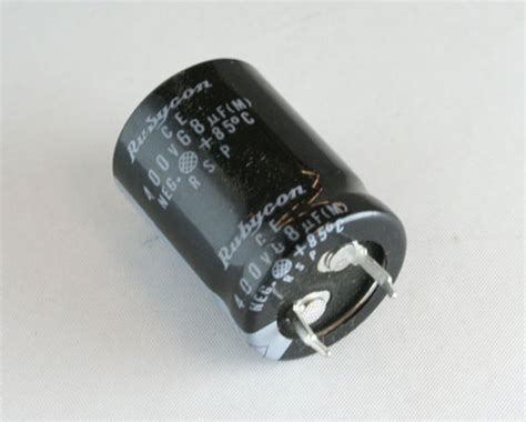 rubycon aluminium capacitor 400rsp68m rubycon capacitor 68uf 400v aluminum electrolytic snap in 2020031892