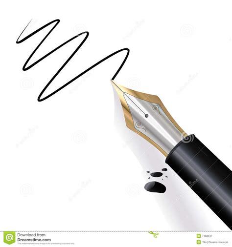Vector S S Vulpen schrijvende vulpen vector illustratie illustratie bestaande uit document 7150647