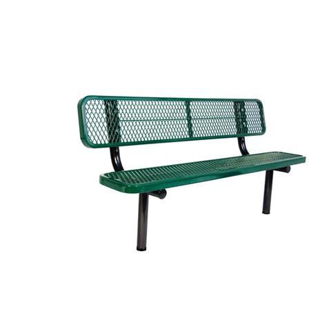 used park bench parkland heritage kokomo wood inlay patio park bench