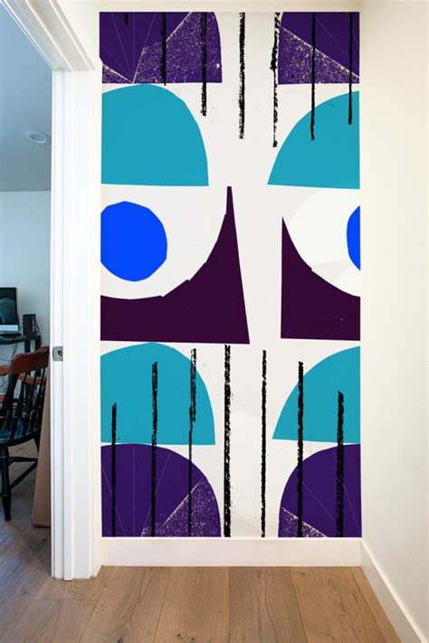 graphic panels oversized graphic wall panels to make a statement digsdigs