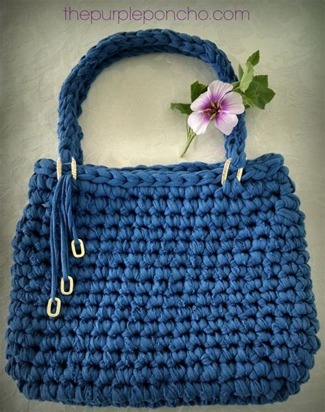 t shirt purse pattern 34 best images about t shirt yarn on pinterest trapillo