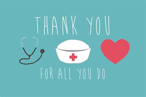 nurse thank you cards this card puts it very succinctly its the