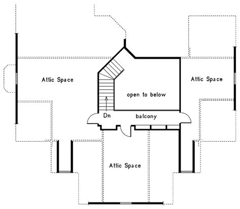 house with attic floor plan lindbergh neoclassical home plan 021d 0018 house plans