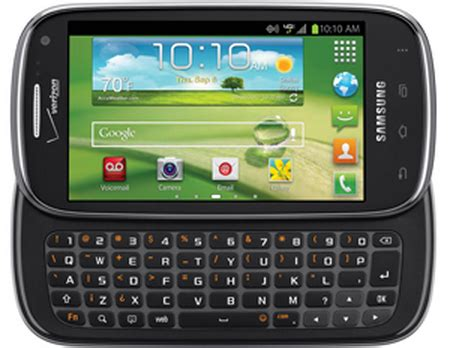 verizon announces samsung stratosphere ii qwerty keyboard 4g lte and 1 2ghz dual chip