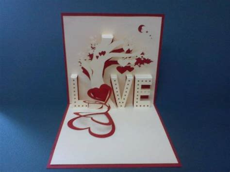 3d Handmade Cards - sell tree handmade 3d pop up greeting card