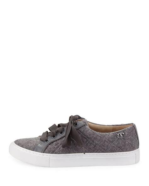 burch sneaker burch marion quilted fleece sneaker in gray lyst