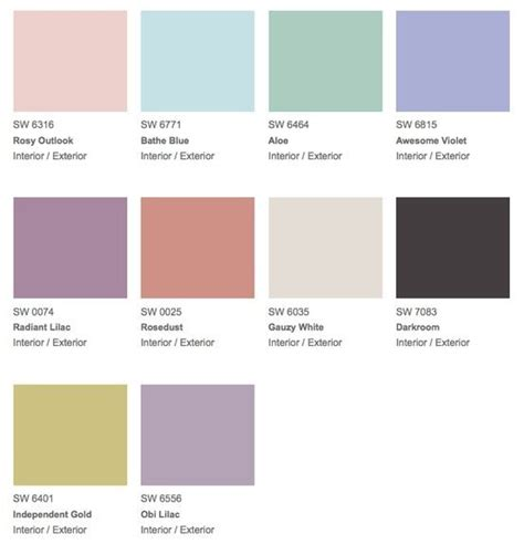 pastel paint colors quot vintage moxie quot palette with swatches of pastel cool