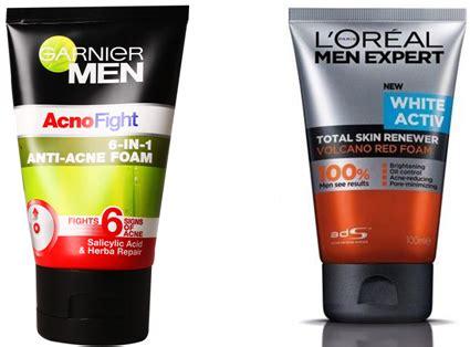 Krim Pembersih Wajah 10 cara mudah merawat wajah pria yang sering berjerawat