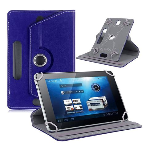 Lcdompet Tablet Universal 7in 360 rotation universal 7 inch ღ ღ tablet tablet leather stand ヾ ノ cover cover for