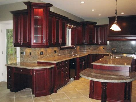 wooden furniture for kitchen 2018 why select cherry wood kitchen cabinets blogbeen