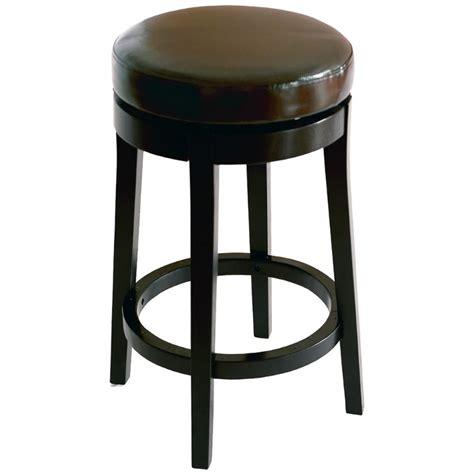 backless swivel counter stools sets armen living 26 quot backless swivel counter stool in