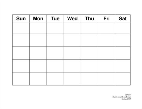 printable calendars by day 5 day weekly calendar template online calendar templates