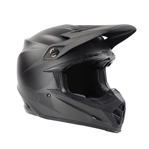 black motocross helmets bell helmets new 2017 mx moto 9 intake dirt bike matte