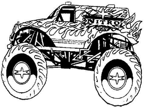 free coloring pages monster jam trucks monster trucks coloring pages coloringsuite com
