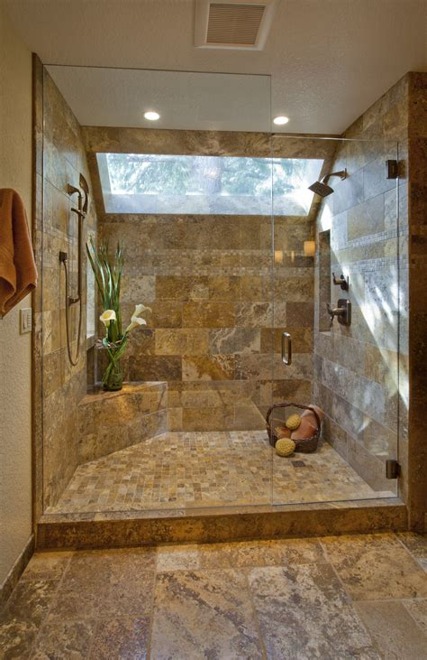 travertine shower travertine shower for the home pinterest