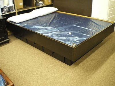 hardside water bed frames furniture mattress store langley bc canadian made quality