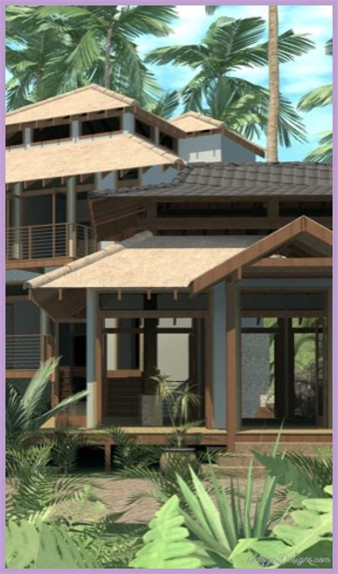 bali house plans designs bali house design open concept 1homedesigns com 174
