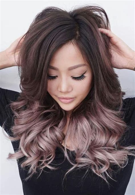 fun hair colors for over 65 65 best burgundy ombre hair images on pinterest hair