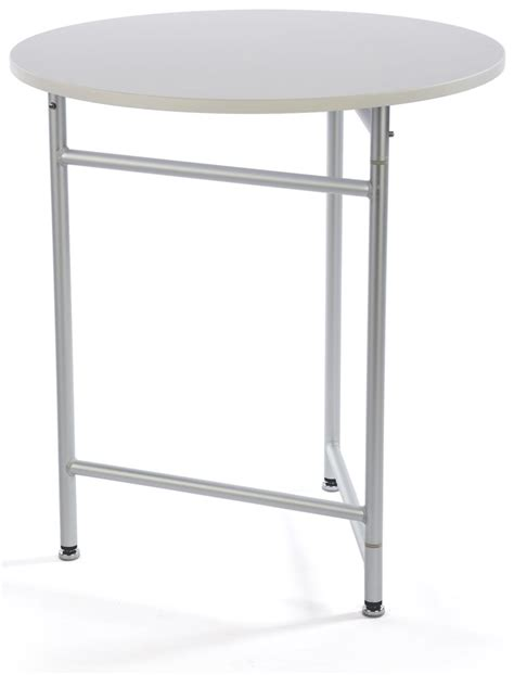 30 trade show cocktail table plastic aluminum