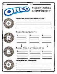 Oreo Template For Persuasive Writing by 25 Best Ideas About Persuasive Writing Exles On