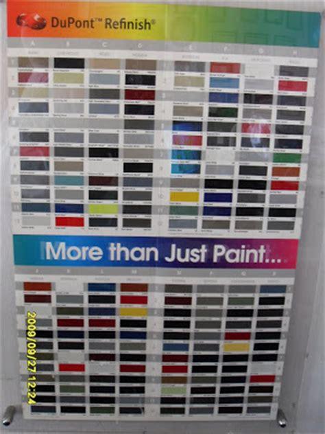 car paints spray gun color card effect color