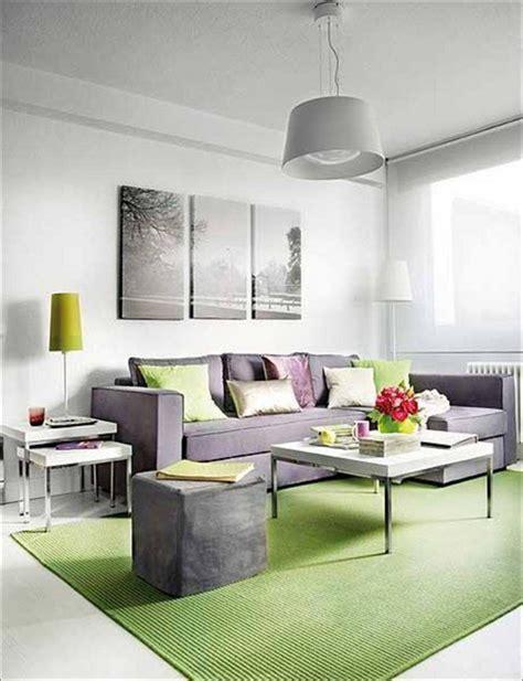 vibrant green  gray living rooms ideas interior vogue