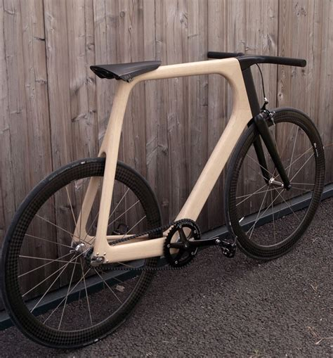 designboom wooden bike arvak is an outcome of keim s hunt for cycling soul