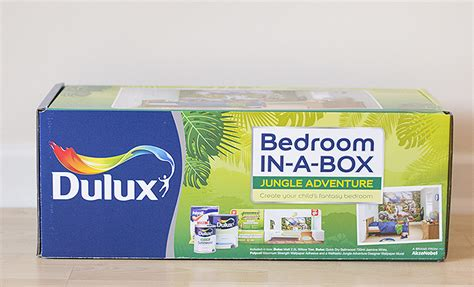 Bedroom In A Box Jungle Dulux Bedroom In A Box Review