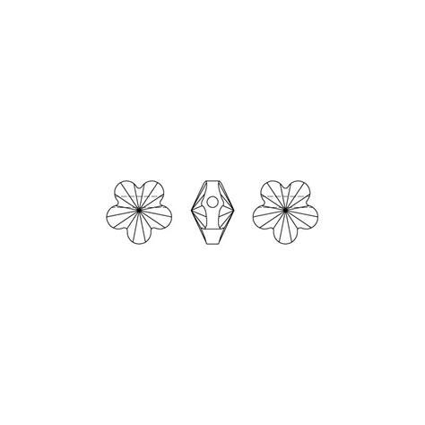 fiore swarovski fiore swarovski 5744 mm 6 x1 swarovski perles
