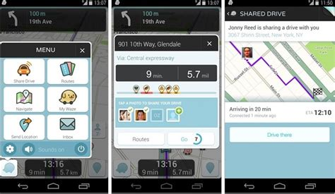 waze app for android waze navigation app for android and ios updated with reved ui and more